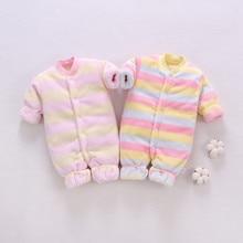SAGACE/плотная теплая зимняя одежда для новорожденных; детские комбинезоны; пальто; комбинезон для маленьких девочек и мальчиков; теплые хлопковые комплекты для маленьких девочек