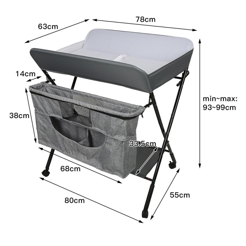 1 Set Multi-Function Rolling Baby Bed Sleeping Nest Travel Beds Baby Changing Table For Newborns Portable Cribs For Baby HWC