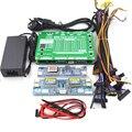 Neue upgrade sechste generation Laptop TV/LCD/LED Test Tool kit led panel tester 14 stücke/LVDS kabel + high druck bord + adapter-in Instrumententeile & Zubehör aus Werkzeug bei