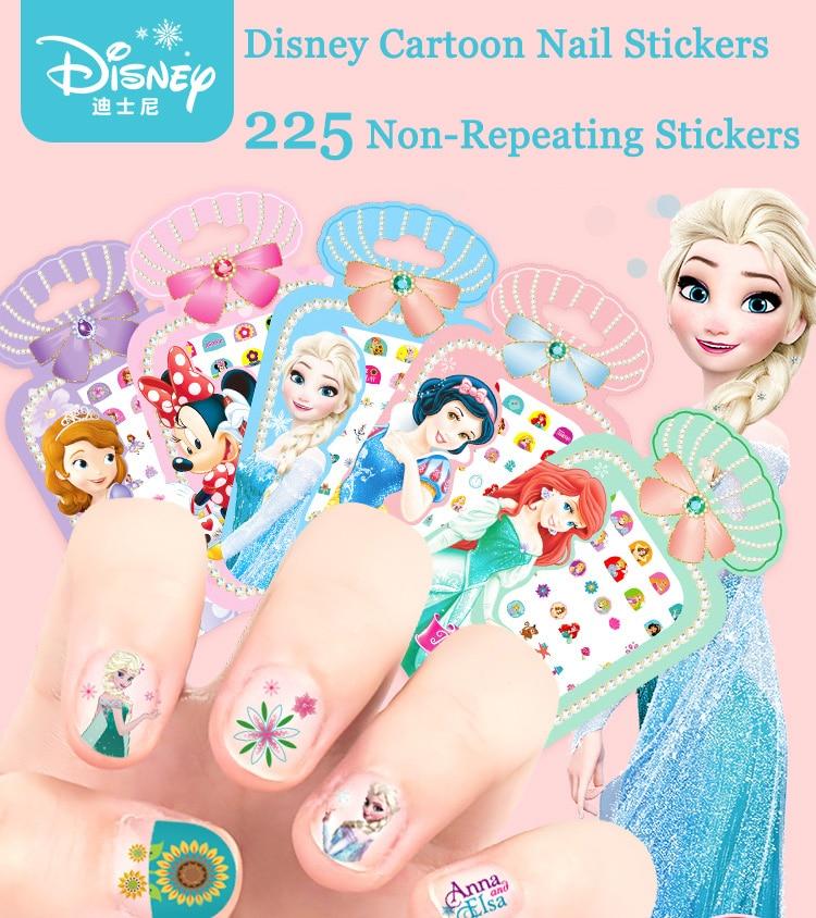 081 Pegatinas De Uñas Para Niños De Mickey Y Minnie Para Bebés Pegatina De Tatuajes Para Uñas De Hielo In Pegatinas From Juguetes Y Pasatiempos On