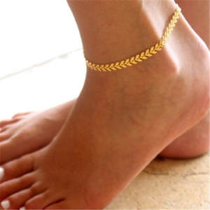 New Summer Simple Silver Color Fish Scale Chain Anklet Bohemian Vintage Footwear Leg Bracelets 2020 Female Foot Jewelry New