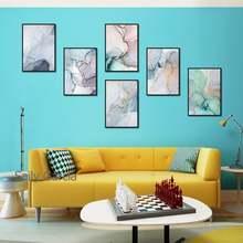 Современные абстрактные настенные художественные красочные декоративные
