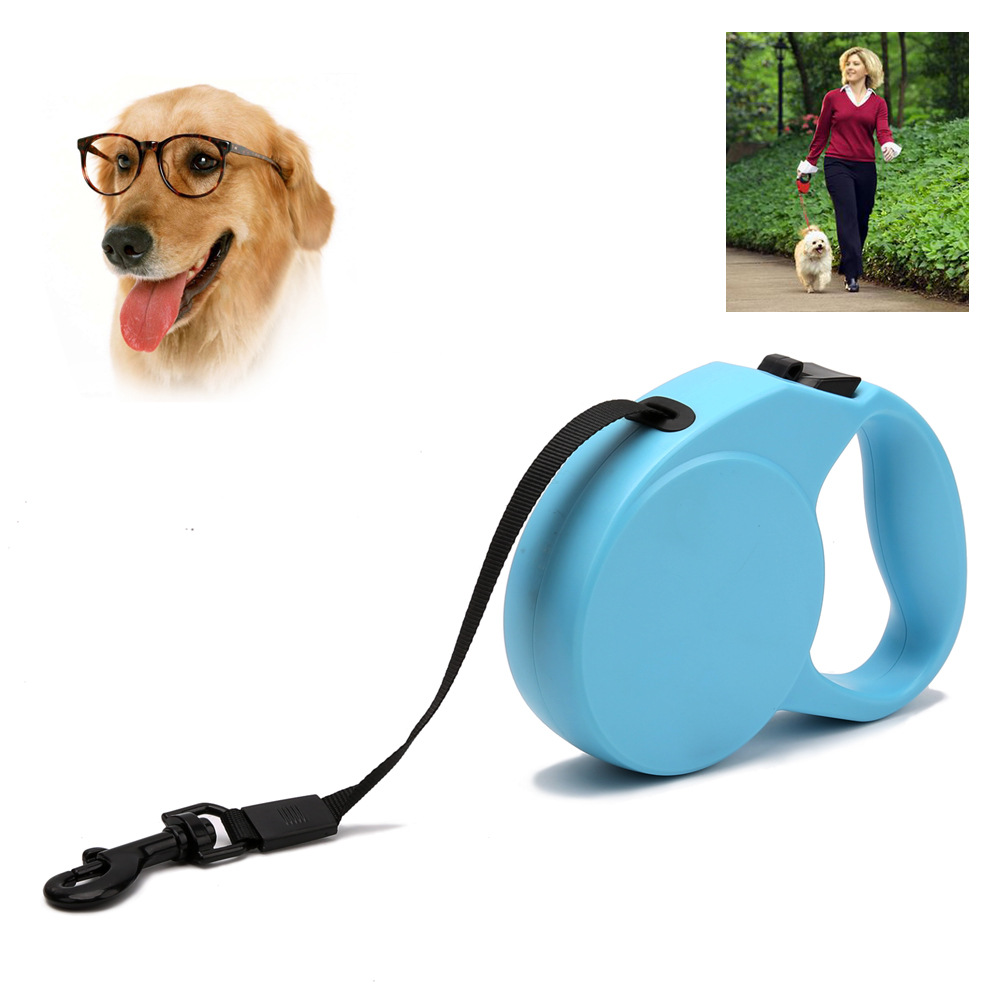 Medium-small Dog Pet Leashing Device 3 M Automatic Stretching Dog Maker Pet Supplies Hand Holding Rope