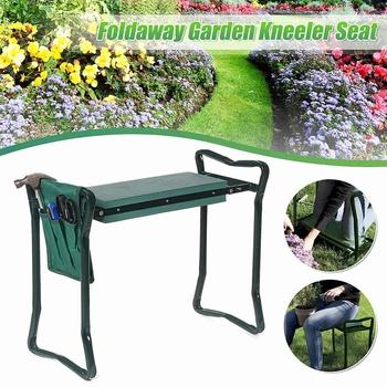 Krzesełko ogrodnicze torba na narzędzia przenośne narzędzia ogrodnicze torba do przechowywania etui na kolana stołek na fotel narzędzia ogrodnicze pokrowiec torba na narzędzia tanie i dobre opinie Meigar CN (pochodzenie) EVA+Steel Tool Bag Chair