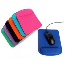 Оптический резиновый коврик для мыши, трекбол, коврик для мыши с подставкой для запястья, коврики для компьютерных игр, 210*230*4 мм, Прямая поставка