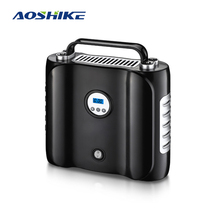 AOSHIKE Inflatable Pump Air compressor Tyre Inflator Mini Portable Compressor 12V 150PSI Rechargeable Air Pump for Car & Bicycle