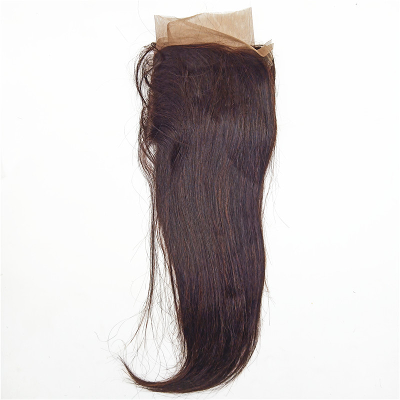 Hot Sell Wholesale Price Of 100% Virgin Human Hair Lace Closure 13x4 Lace Straight 12inch