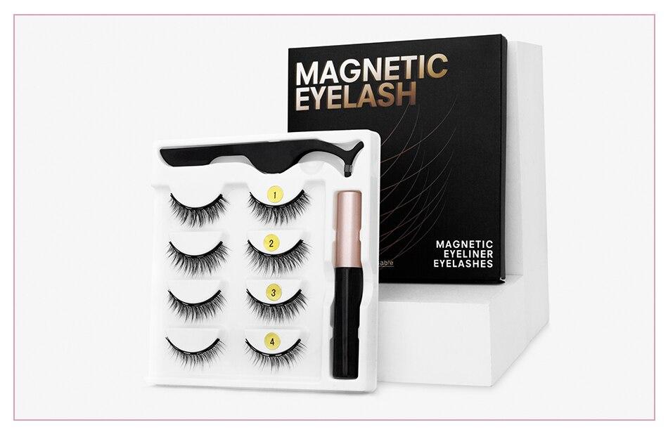 Fabulous Magnetic Eyelashes and Eyeliner