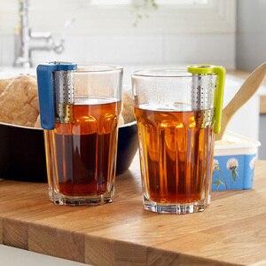 Image 3 - 1 pièces infuseur à thé en acier inoxydable passoire à thé filtre à sachets en métal thé infuseur à thé infuseur thé boule a the infuseur infuseur the