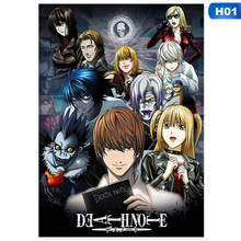 Note-Poster Coated-Paper Wall-Sticker Picture-Anime Death Painting Home-Decoration 29x42cm