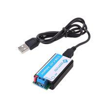 USB إلى يمكن مصحح USB CAN USB2CAN محول محول يمكن حافلة محلل