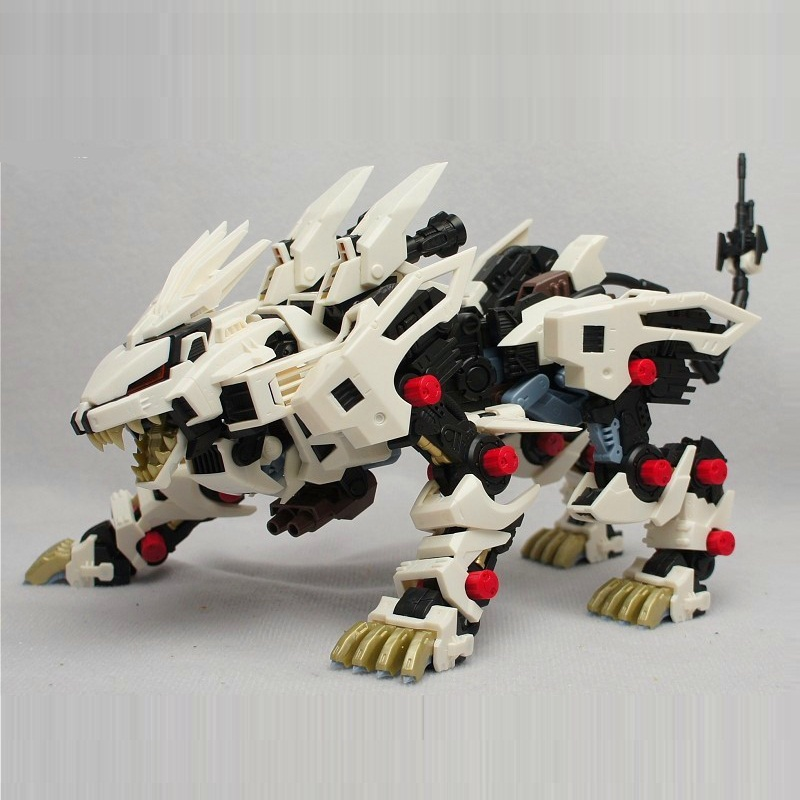 BT Model Building Kits: ZOIDS RZ-041 Liger ZERO 1:72 Scale Full Action Plastic Kit Assemble Model Birthday Christmas Gifts