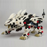 BT Model Building Kits: ZOIDS RZ 041 Liger ZERO 1:72 Scale Full Action Plastic Kit Assemble Model Birthday Christmas Gifts