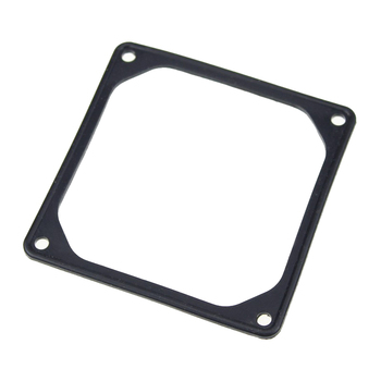 50PCS 92mm 92mmx92mm Anti-vibration Silicon Fan Gasket Noise Reducing Silencer Gasket Pad For PC  Computer Case Fan