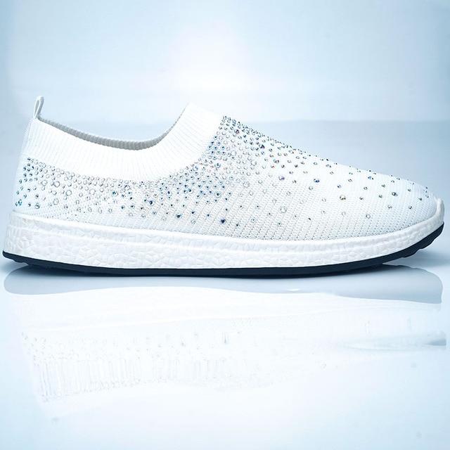 Women shoes Sneakers Shiny Sock  6