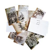 20 шт/компл Новый Винтажный стиль alice's adventure in wonderland