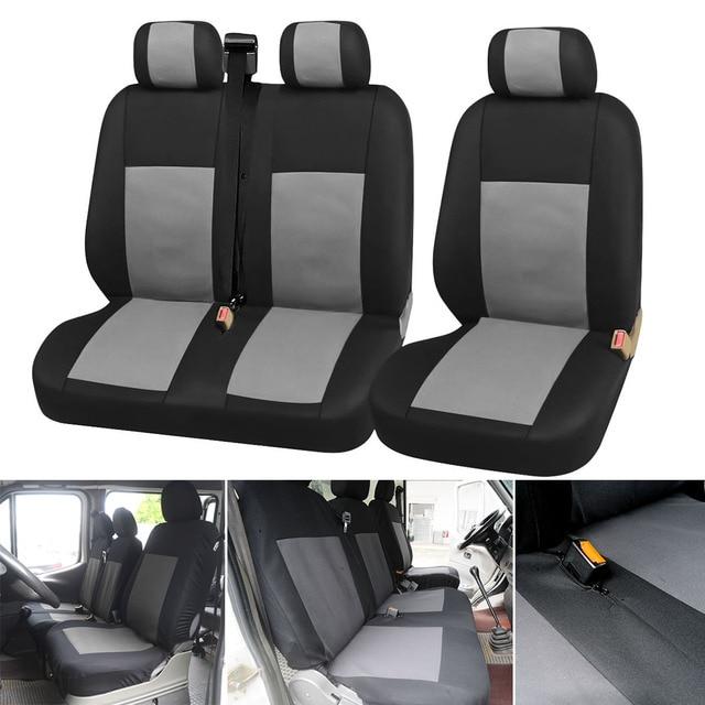 Universal Auto Lkw 2 + 1 Typ Split Sitzkissen Abdeckung Staubdicht Sitz Für Ford Transit Custom Für Renault Master für Vauxhall