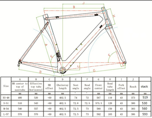 Image 5 - SENSA T800 700C BB68 스레드 최고 품질의 새로운 탄소 도로 프레임 자전거 경주 자전거 frameset 56/58/60/62mm 큰 크기 큰 높이