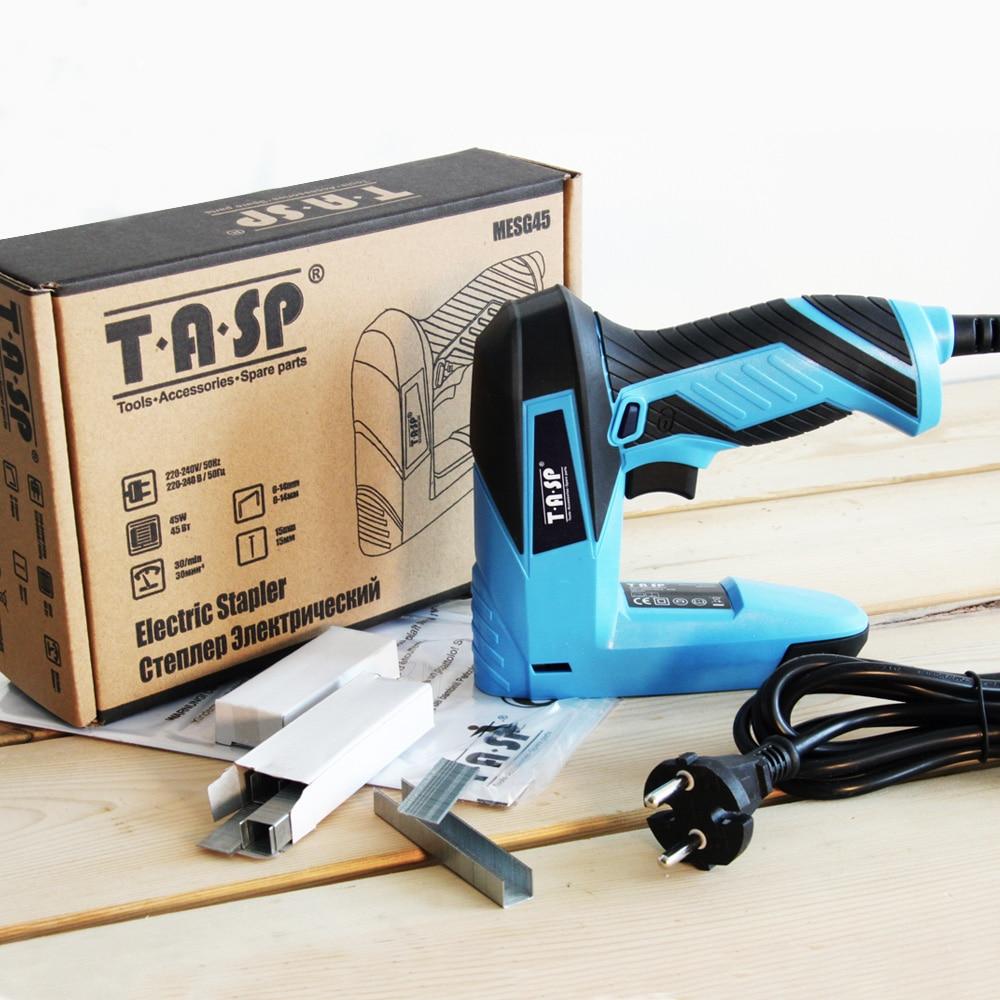 TASP Elektrický hřebíkovač a sešívačka 2 v 1 sešívací - Elektrické nářadí - Fotografie 6