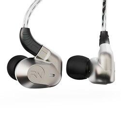 2019 Revonext NEX602 1DD + 3BA technologia hybrydowa w uchu słuchawka hi-fi zestaw słuchawkowy do biegania sportowe słuchawki douszne do QT2 QT5 NEX202