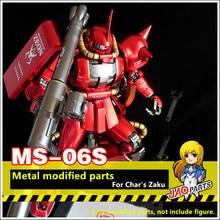 JAOparts المعادن تعديل أجزاء مجموعة ل بانداي MG 1/100 MS 06S شار زاكو II 2.0 Gundam DJ034