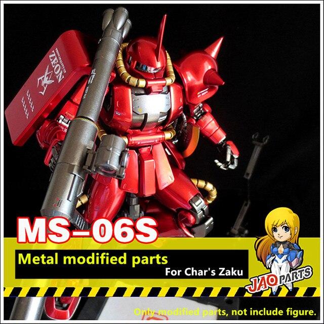 Jaoparts Kim Loại Sửa Đổi Phần Bộ Cho Bandai MG 1/100 MS 06S Char Của Zaku II 2.0 Gundam DJ034