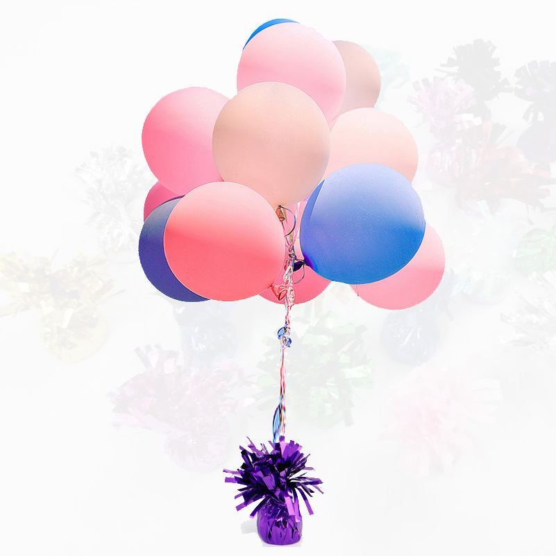 6//12PCS Helium Balloon Weights Baby Shower Birthday Wedding Party Decorations