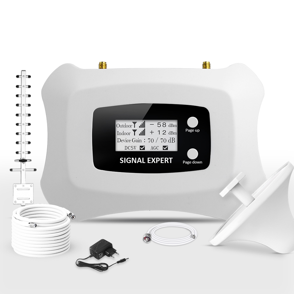 Atnj Signal Expert Dcs 1800mhz Smart Mobile Signal Booster Transmitter And Receiver 433mhz