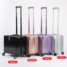 Business-Box Suitcase Luggage Universal-Wheel Can-Board Small Stewardess Computer The-Plane