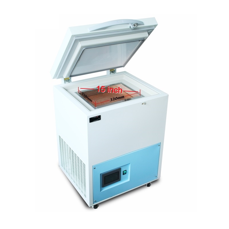 -185 Degree Frozen Separating Machine With Touch Screen Control 11