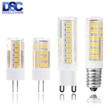 G4 G9 E14 LED Bulb 3W 4W 5W 7W Mini LED Lamp AC 220V-240V LED Corn Bulb SMD2835 360 Beam Angle Replace Halogen Chandelier Lights цена 2017