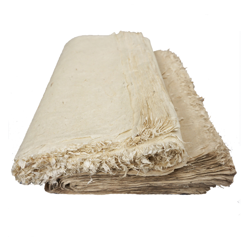 Calligraphy Papers Handmade Chinese Half-Ripe Xuan Paper Rice Papers Vintage Style Carta Di Riso Writing Painting Supplies