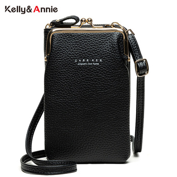 HOT Fashion Small Crossbody Bags Women Mini Matte Leather Shoulder Messenger Bag Clutch Bolsas Ladies Phone bag Purse Handbag women cell phone bag shoulder transparent bag card holders girl handbag ladies pu leather clutch phone wallets purse 2020