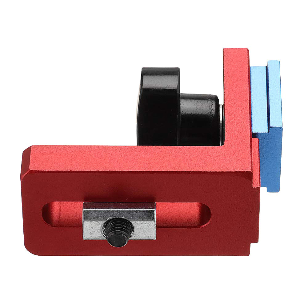 T-track Woodworking Chute Backing Connector Slot Miter Gauge Machinery Part Module Track Stop Locator Rail Retainer