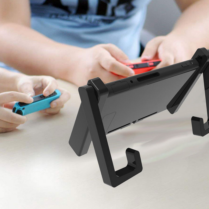 Two-in-One Simple Car Bracket Adjustable Desktop Holder Stand Support for NS Switch Game Console Accessories