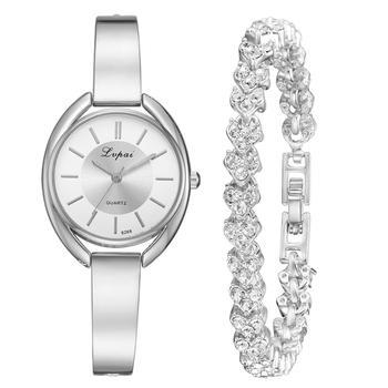 2pcs Silver White