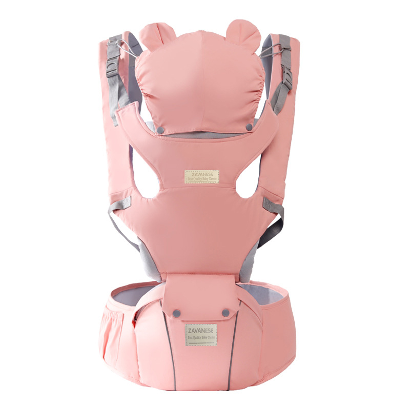 Front Facing Baby Carrier Breathable Comfortable Sling Backpack Cartoon Newborn Waist Hipsit Pouch Wrap Kangaroo Carrying Child