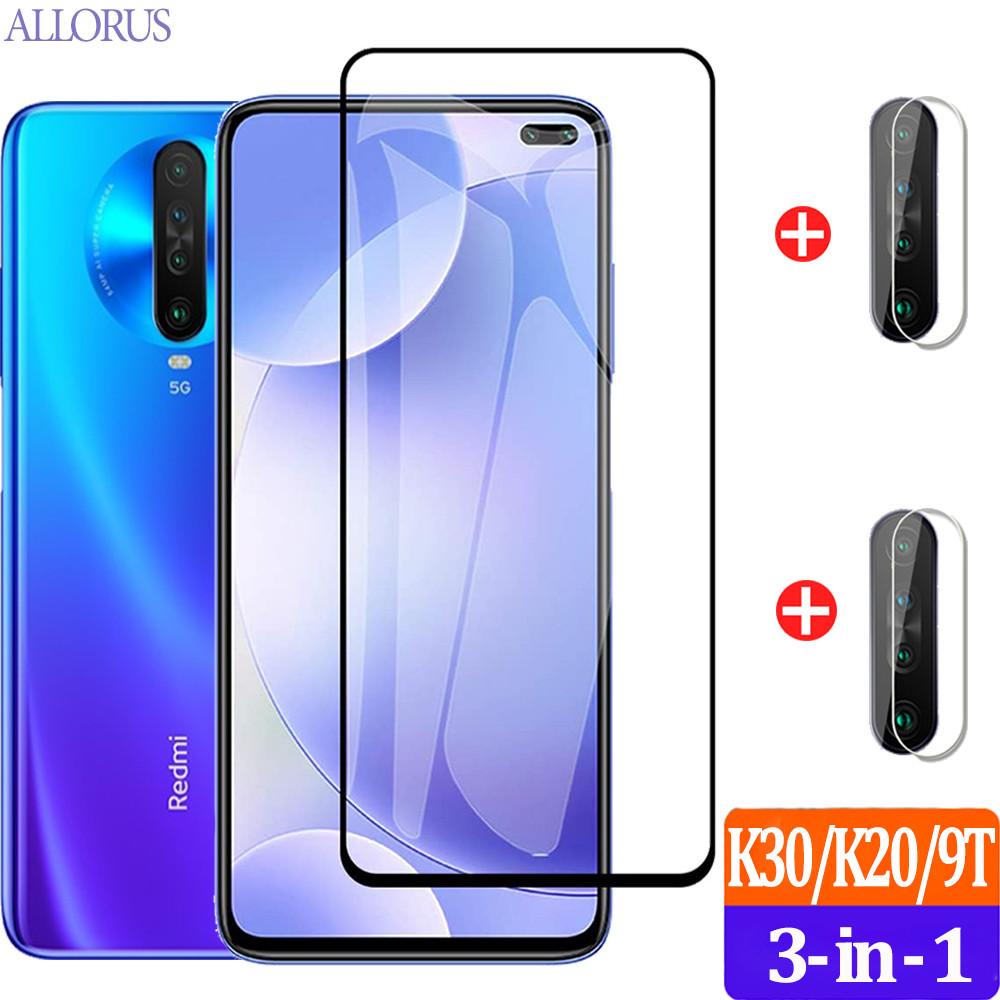 Soft <font><b>Camera</b></font>+Tempered Glass For Redmi K30i K20 <font><b>Mi</b></font> <font><b>9T</b></font> Pro Screen <font><b>Protector</b></font> Front Film On <font><b>Xiaomi</b></font> <font><b>Mi</b></font> 9 t Mi9T 9Lite K30 i Safe Glass image