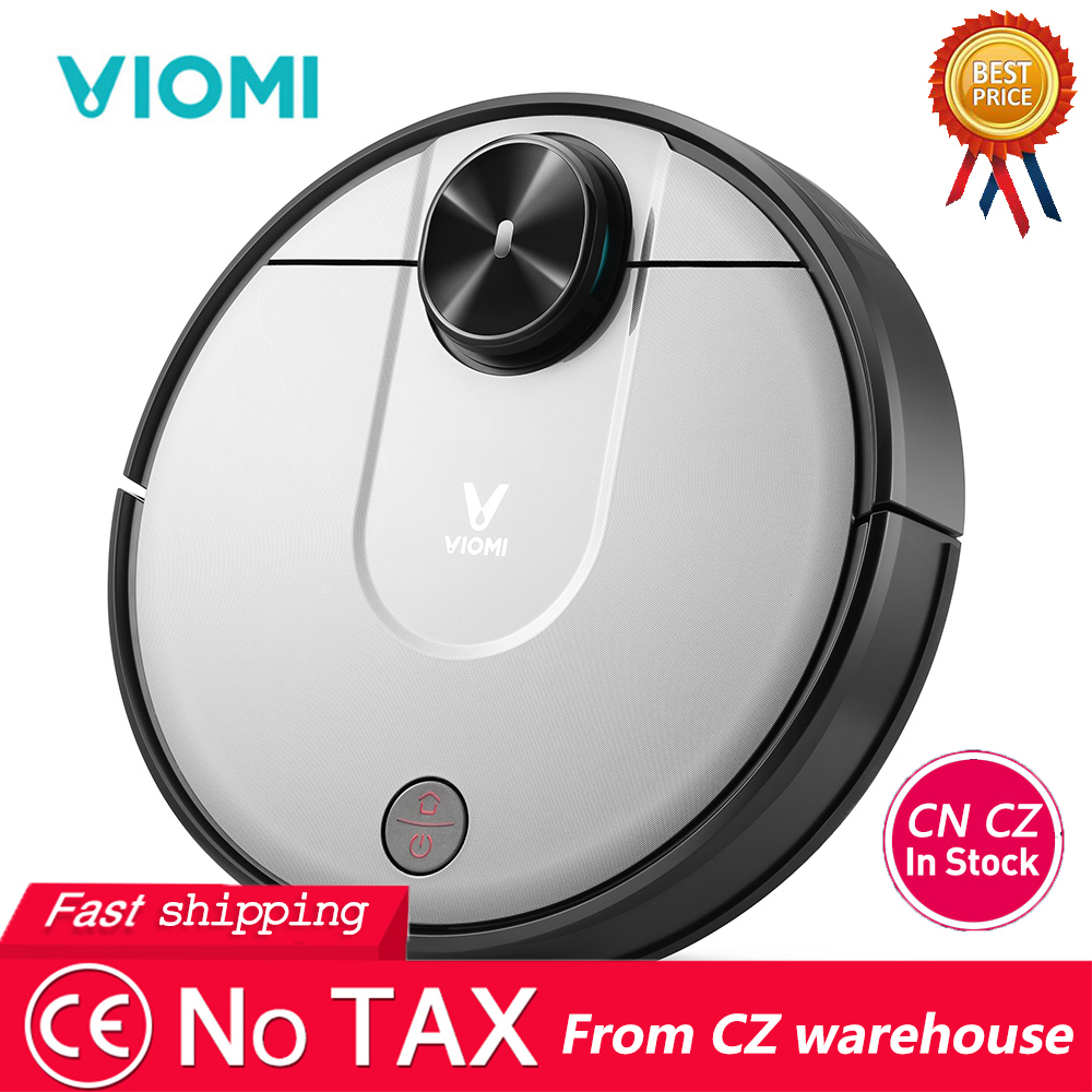 [In Stock] VIOMI V2 Pro Smart Robot Vacuum Cleaner 2100Pa Strong Suction Self-Charging LDS Sensor 2 In 1 Sweeping Mopping