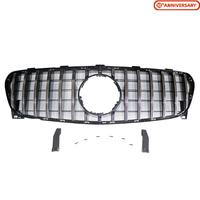 Front Grill For Mercedes Benz GLA X156 GLA200 GLA250 GLA45 AMG 2017 2018 2019 GT R Panamericana Bumper grille Mesh Protection