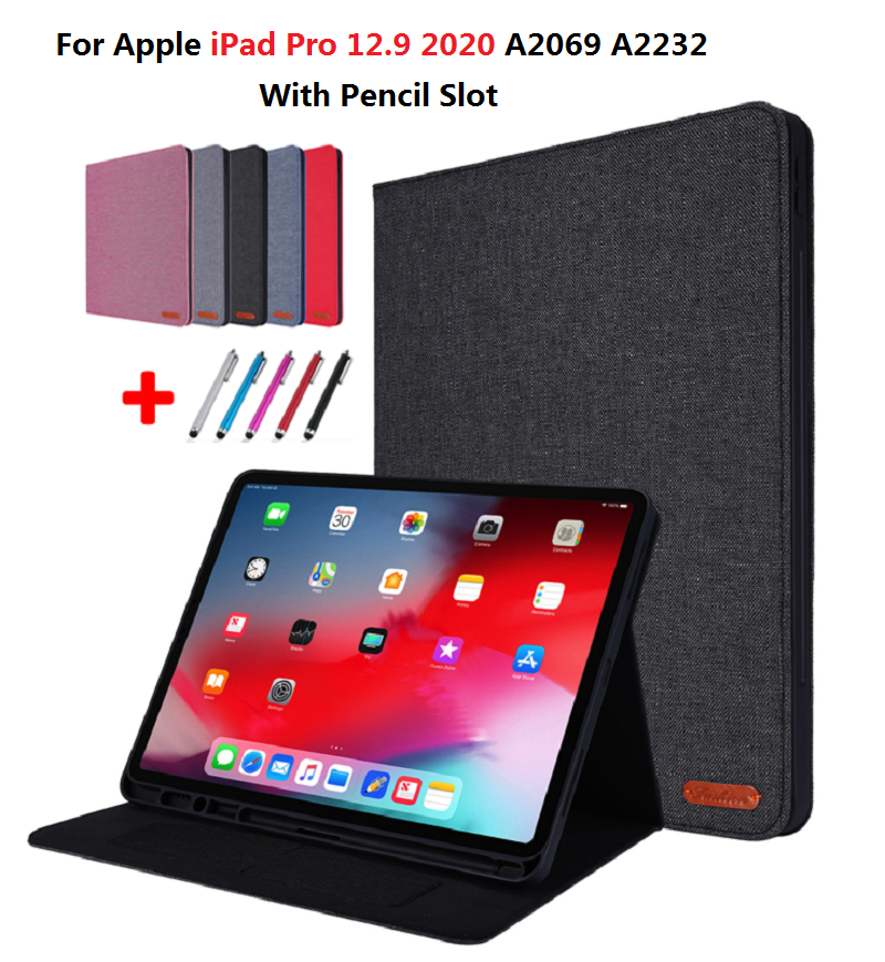 Holder For Case 12.9 Pro 2020 With iPad Gen iPad 4th inch Pro Pencil For Tablet Coque