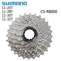 SHIMANO Ultegra CS R8000 HG800-11 droga ostre koło 11 prędkości 11-25T 11-28T 11-30T 11-32T 11-34T R8000 kaseta zębatka