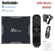 X96 MAX Plus Android 9.0 TV BOX 4GB RAM Amlogice S905X3 2GB