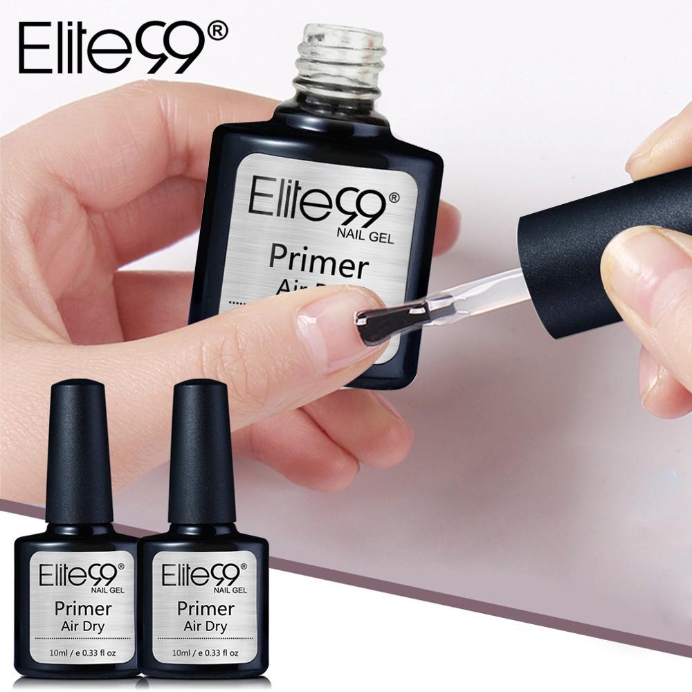 Elite99 Fast Art Dry Primer UV LED Gel No Need UV/LED Lamp Soak Off Base Primer Strengthen Adhesion Gel Nail Polish Art Design
