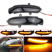 Flashing Water Dynamic Indicator Blinker For Mercedes Benz C Class W203 S203 CL203 2001 2007 LED Turn Signal Side Mirror Light