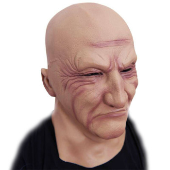 Realistic Latex Old Man Mask Disguise Honor Halloween Mask Adult Party Masks Masquerade Cosplay Scary Mascaras Halloween
