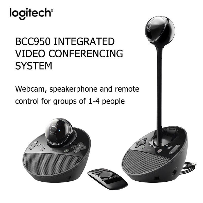 Logitech BCC950 HD 1080P Conference webcam Desktop Video Webcam Built-in microphone noise reduction Suitable for home office