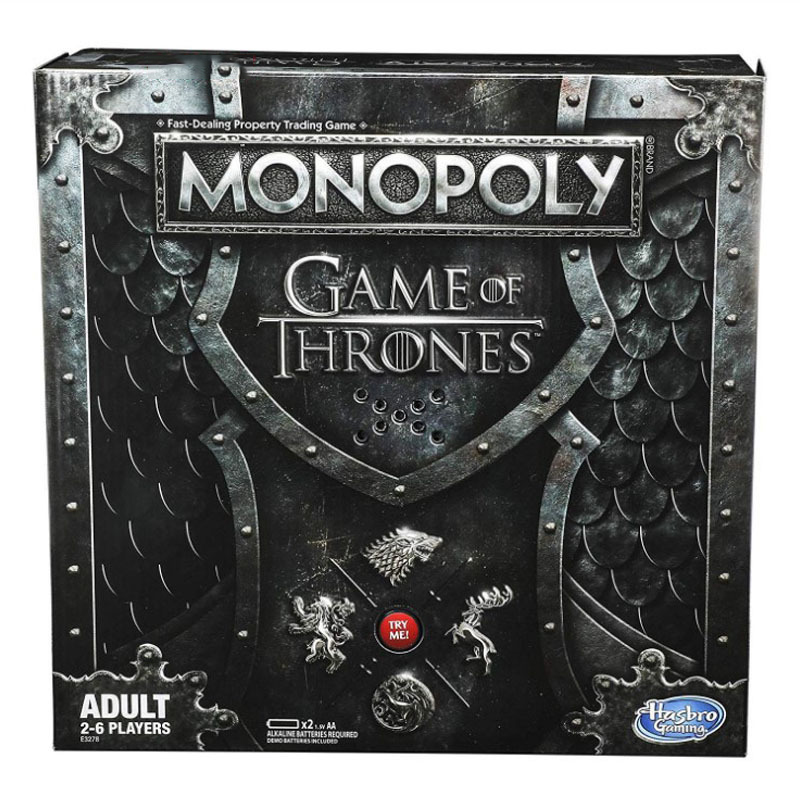 Hasbro Game of Thrones Periphery Monopoly Board Game Toy Card Game Kid Toy Gift Board role-playing games Games and Puzzles toys