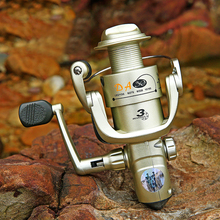 Spinning Fishing Reel Interchanged Left/Right Hand Wheel Carp Spinning Reel spool Power 5.0:1/4.5:1 Sea Water/Freshwater Fishing 14 1bb double spool fishing reels metal spinning carp trout bass reel spare line cup left right hand freshwater saltwater wheel