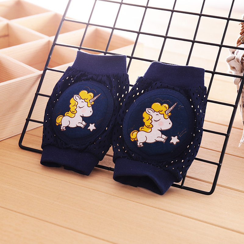 Cute Unicorn Knee Pads For Baby Leg Warmers Kids Safety Crawling Elbow Cushion Infant Toddler Baby Foot Warmer Knee Pads  Active